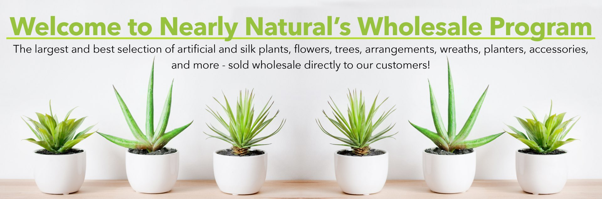 Welcome to Nearly Naturals Wholesale Program